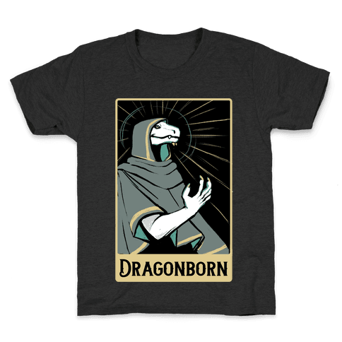 Dragonborn - Dungeons and Dragons Kids T-Shirt
