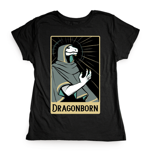 Dragonborn - Dungeons and Dragons Womens T-Shirt