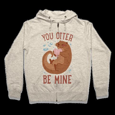 You Otter Be Mine Zip Hoodie