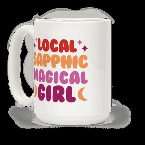 Local Sapphic Magical Girl Coffee Mug