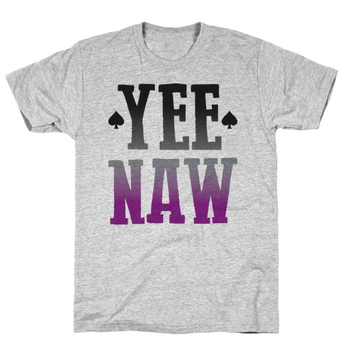 Yee Naw Asexual Pride T-Shirt