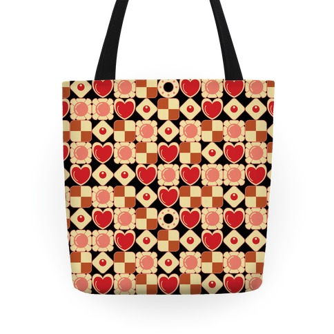 Gamer Cookies Pattern Tote
