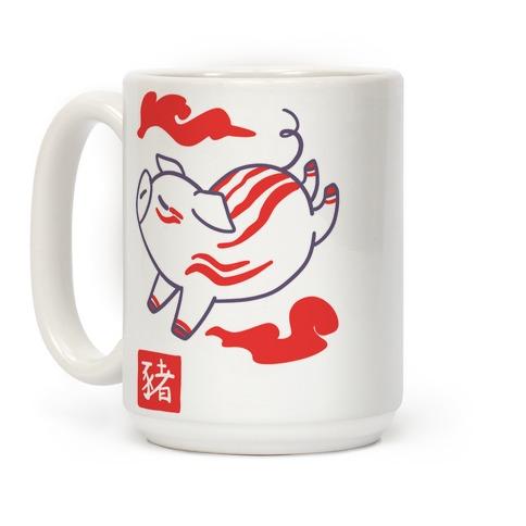 Pig - Chinese Zodiac Coffee Mug
