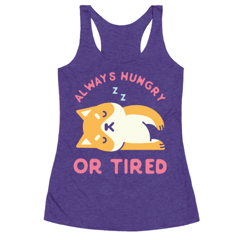 Always Hungry or Tired Shiba Inu