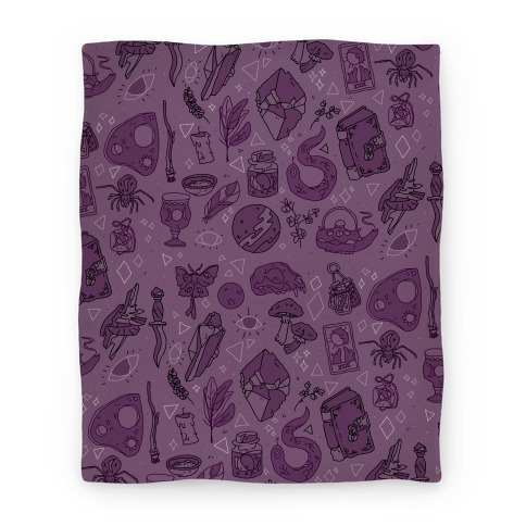 Witchy Pattern Blanket