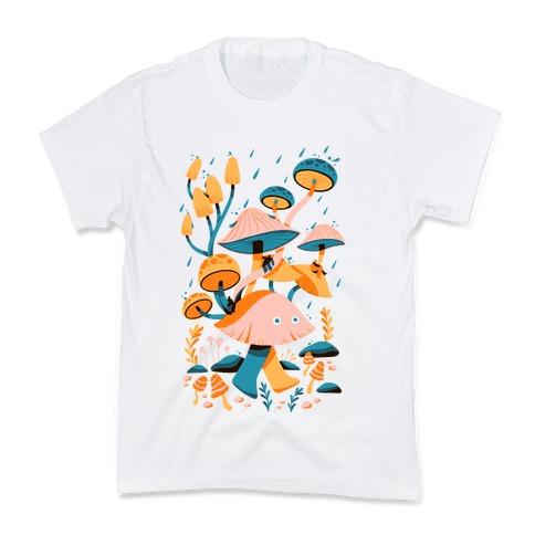 Mushroom Forest Spirits Kids T-Shirt