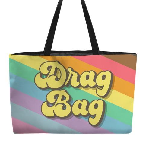 Drag Bag Weekender Tote