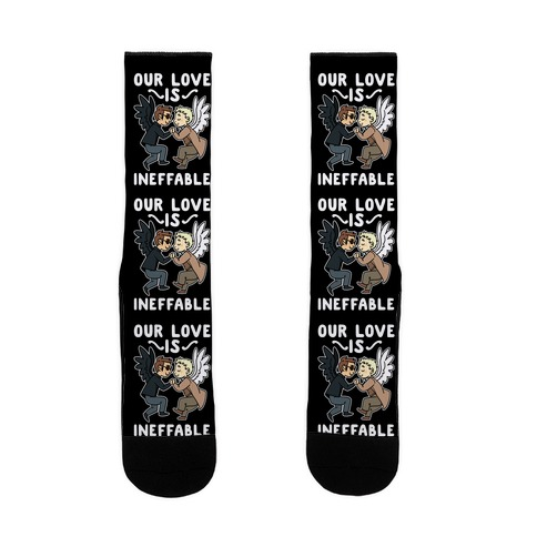 Our Love is Ineffable - Good Omens Sock
