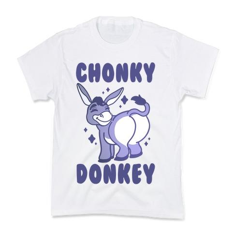 Chonky Donkey Kids T-Shirt