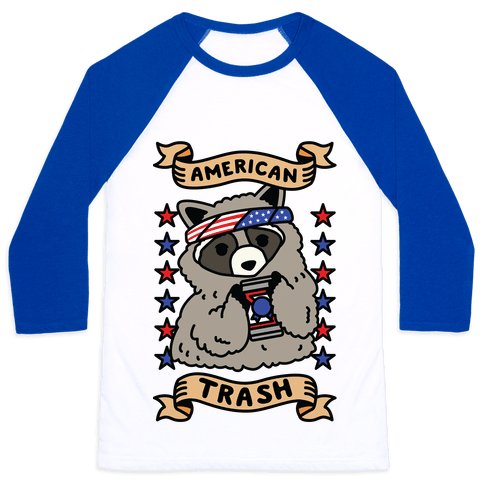 American Trash Baseball Tee