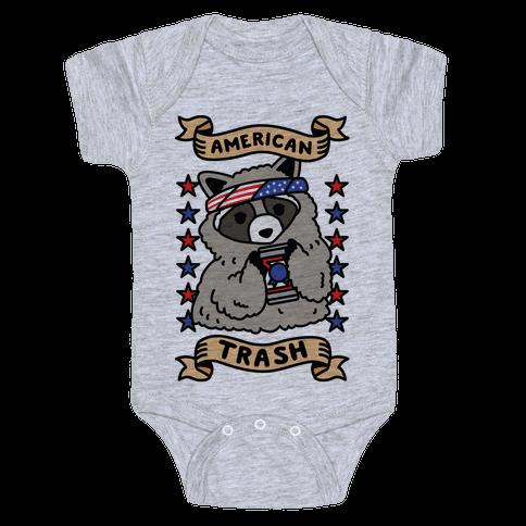American Trash Baby Onesy