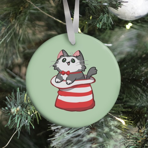 A Cat In The Hat Ornament
