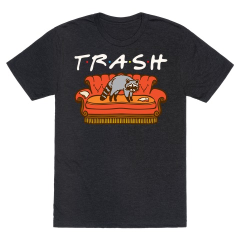 Trash Friends Parody Mens/Unisex T-Shirt