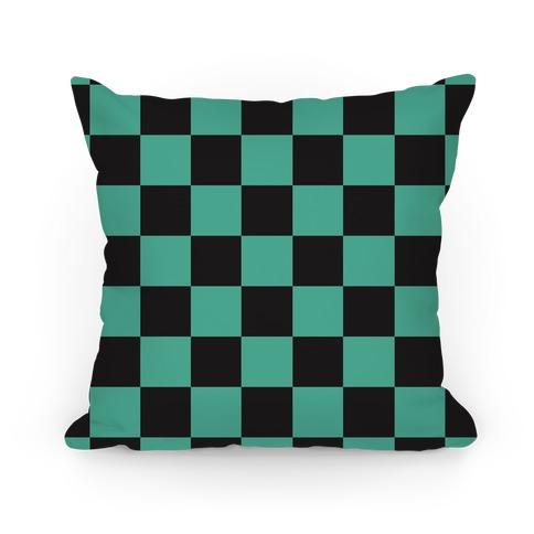 Tanjiro Pattern Pillow