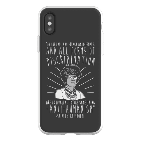 Shirley Chisholm Phone Flexi-Case