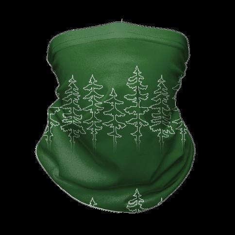 Evergreen Pines Gradient Neck Gaiter