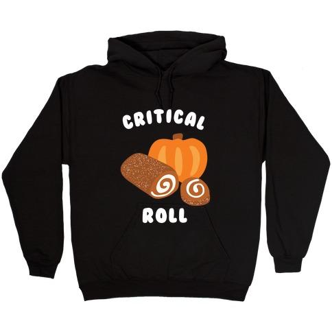 Critical Pumpkin Roll Hooded Sweatshirt