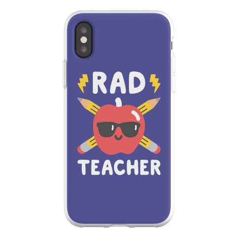 Rad Teacher Phone Flexi-Case
