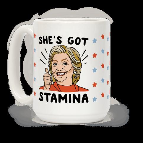 Hillary's Got Stamina