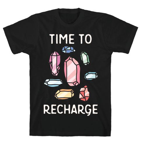Time To Recharge Mens T-Shirt