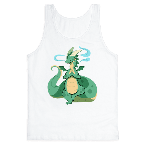 Dragon At Peace Tank Top