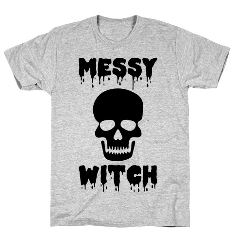 Messy Witch Mens T-Shirt
