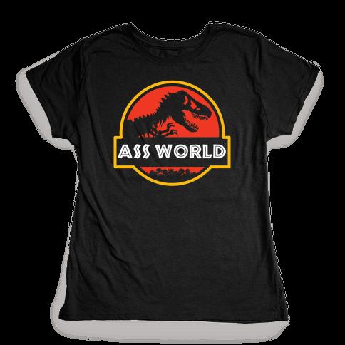Ass world Womens T-Shirt