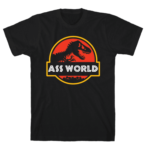 Ass world Mens T-Shirt
