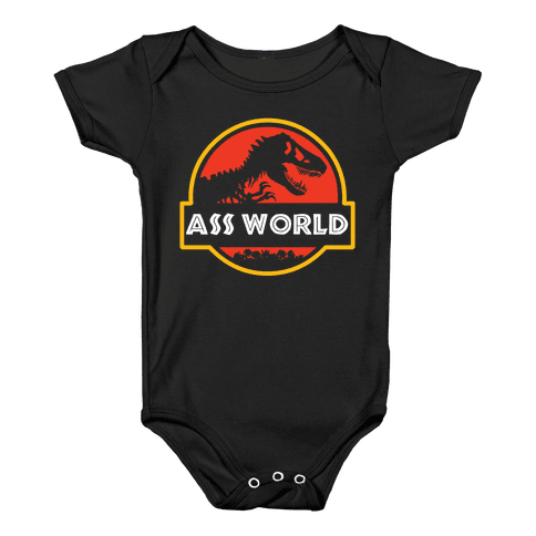 Ass world Baby Onesy