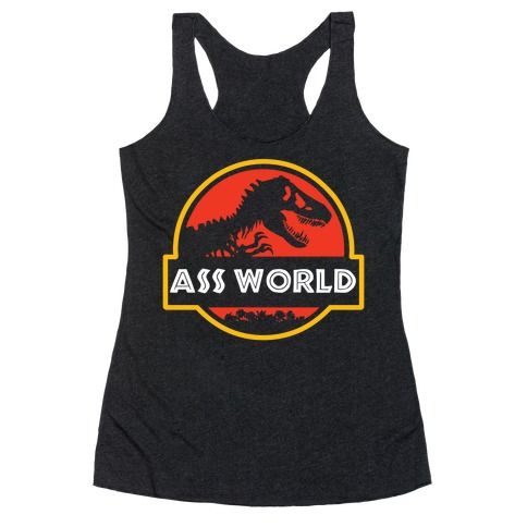 Ass world Racerback Tank Top