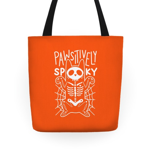 Pawsitively Spooky Tote