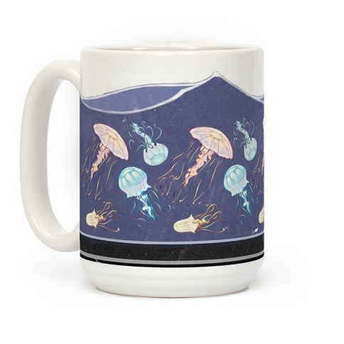 Rainbow Jellies Coffee Mug