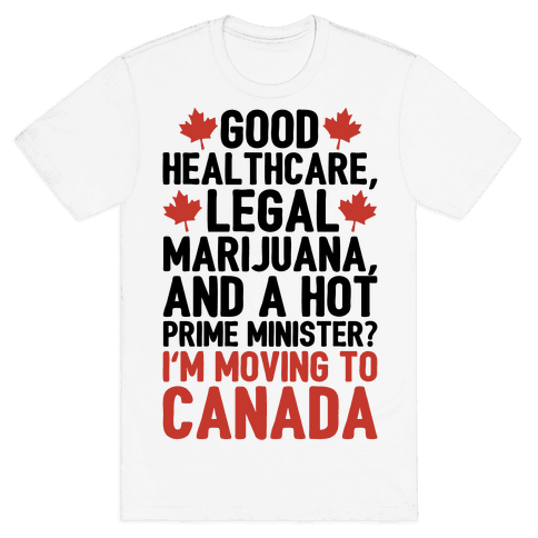 I'm Moving To Canada  Mens T-Shirt