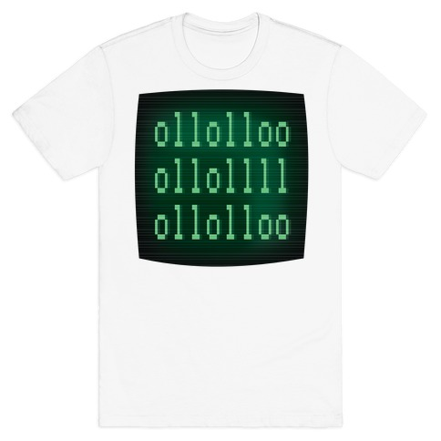 LOL Binary Code T-Shirt