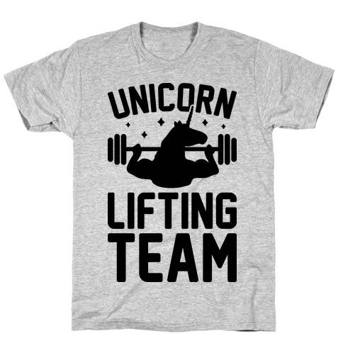 Unicorn Lifting Team T-Shirt