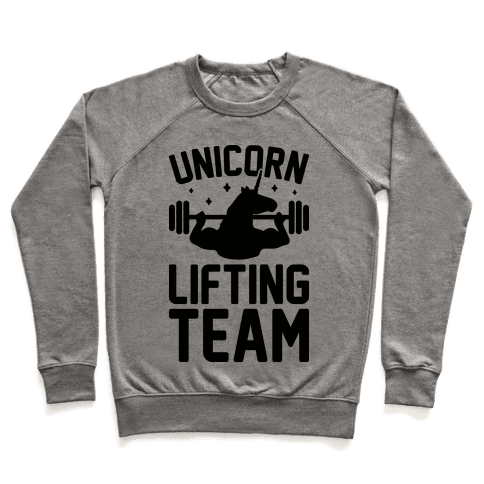 Unicorn Lifting Team Pullover