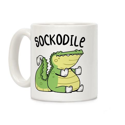 Sockodile Coffee Mug