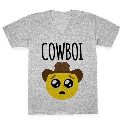 Cowboi V-Neck Tee Shirt