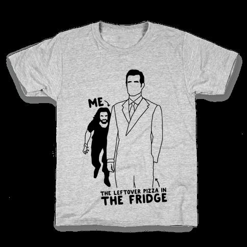 Me Vs. The Leftover Pizza In The Fridge  Kids T-Shirt