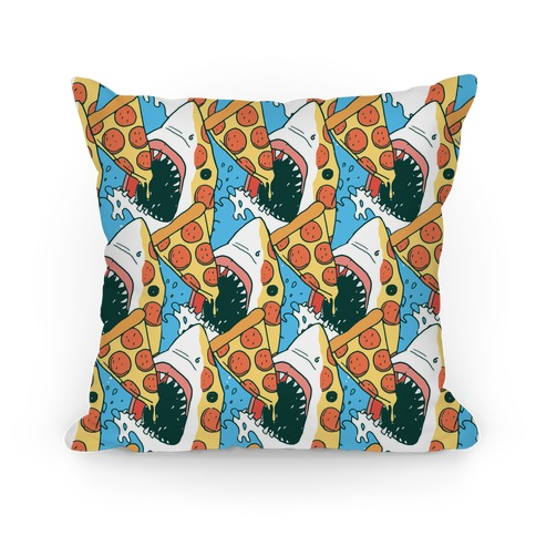 Pizza Shark Pillow