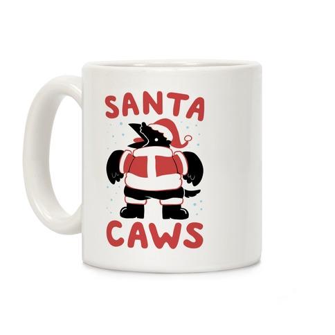 Santa Caws Coffee Mug