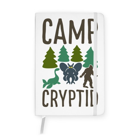 Camp Cryptid Notebook