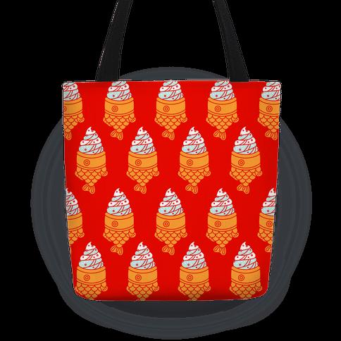 Taiyaki Pattern  Tote