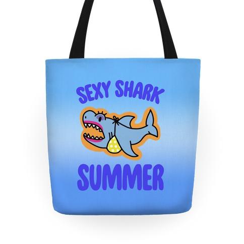 Sexy Shark Summer Tote