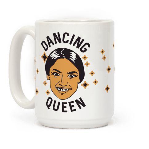 Alexandria Ocasio-Cortez Dancing Queen Coffee Mug