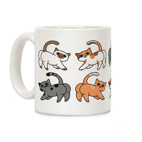 Cats With Buttcheeks Coffee Mug