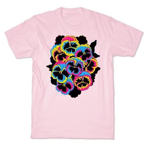 Pan-sy (Pansexual Pansies) T-Shirt