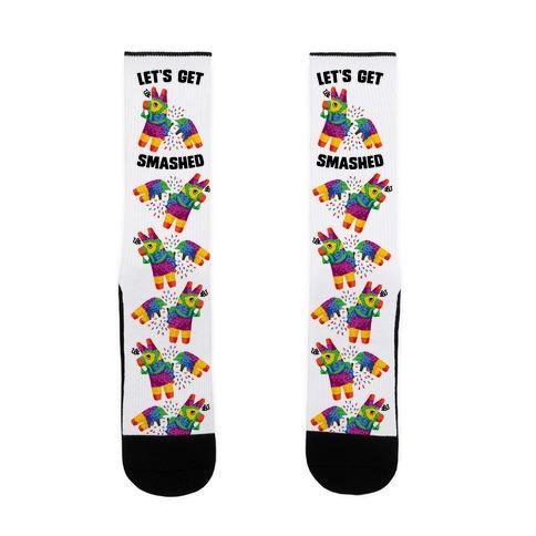 Let's Get Smashed Sock