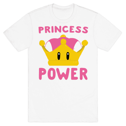 Princess Power Mens T-Shirt