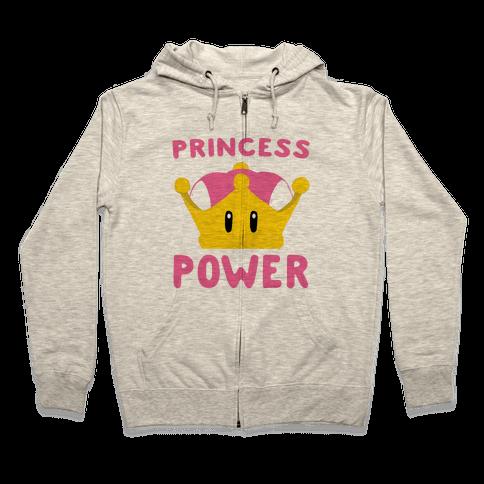 Princess Power Zip Hoodie